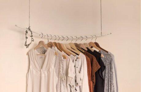 Oblečení na pohovoru ženy